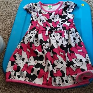 Toddler Minnie Mouse dress